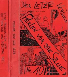 VARIOUS ARTISTS - ''Perlen vor die Säue'' TAPE (Germany, 1993)
